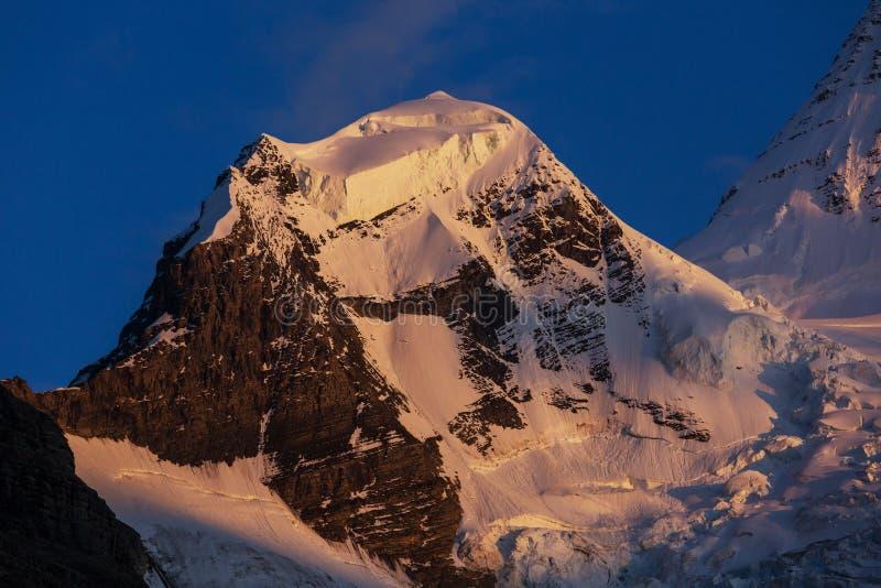 Mt Robson lizenzfreies stockfoto
