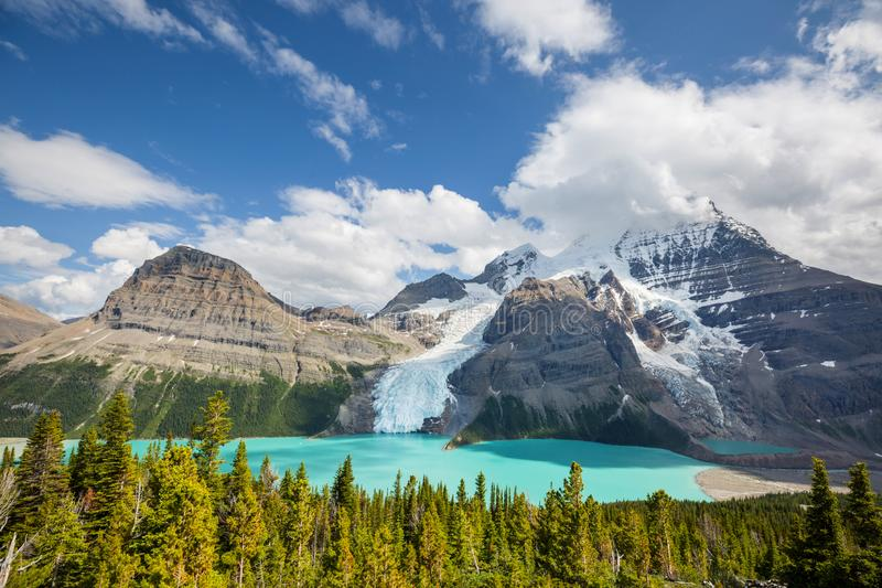 Mt Robson stockfoto