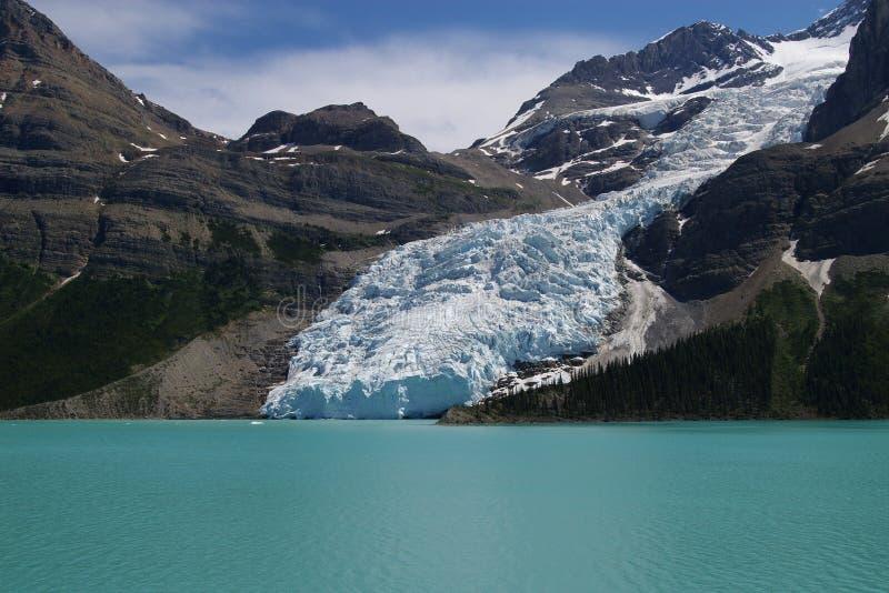 Mt. Robson und Berg See stockfotos