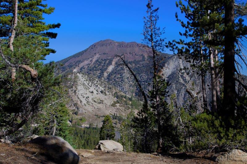 Mt Rosa nanovolt foto de stock royalty free