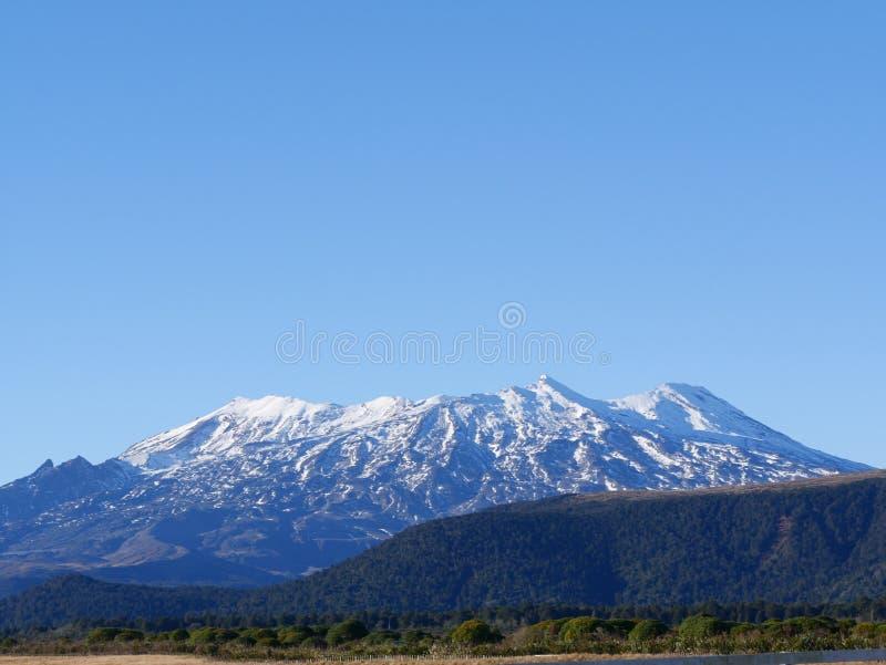 Mt Ruapehu lizenzfreie stockfotos