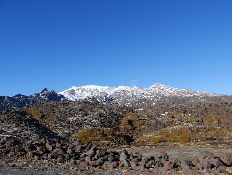 Mt Ruapehu lizenzfreie stockbilder