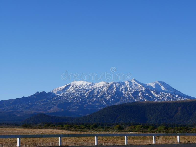 Mt Ruapehu lizenzfreie stockfotografie
