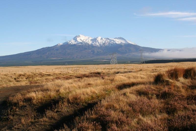 Mt Ruapehu imagens de stock