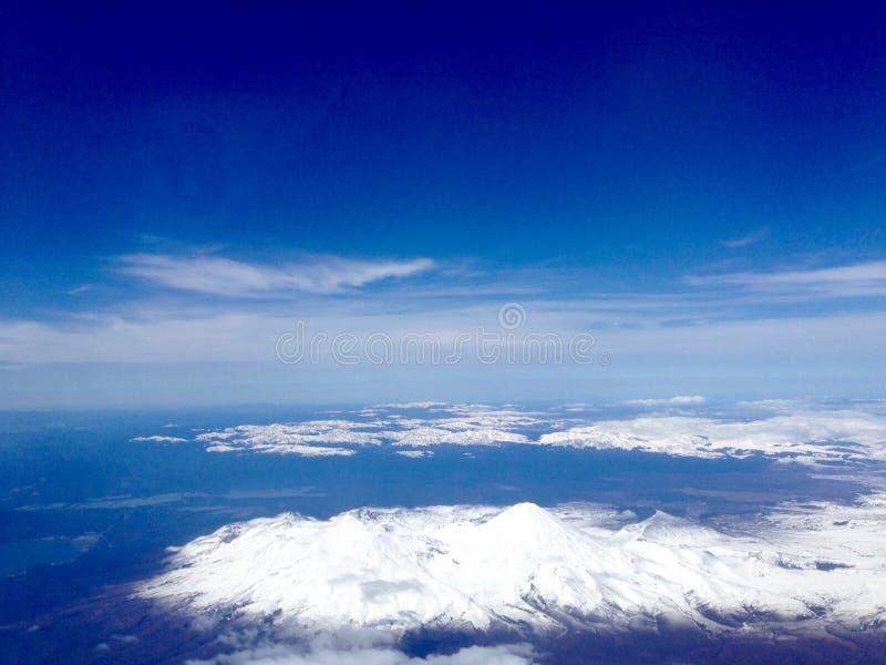 Mt Ruapehu imagem de stock royalty free