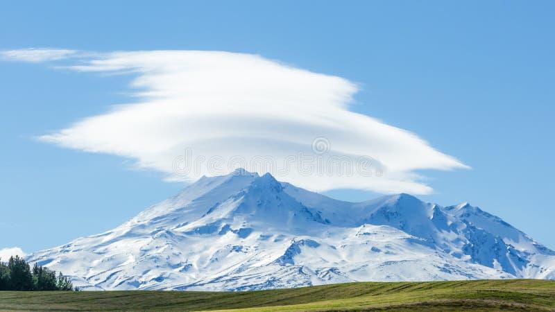Mt Ruapehu fotografía de archivo libre de regalías