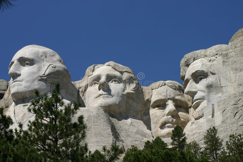 Mt. Rushmore royalty free stock photos