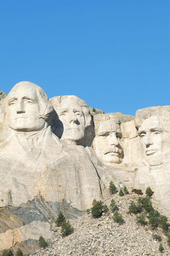 Mt. Rushmore royaltyfria foton