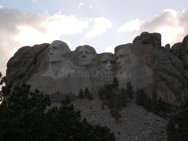 Mt Rushmore stockbilder