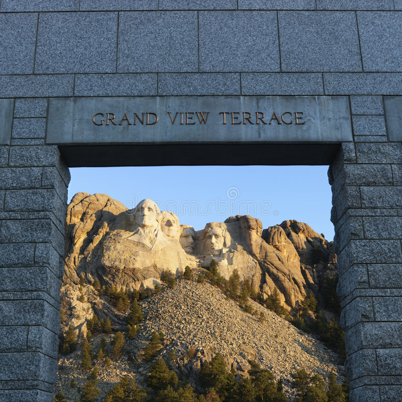 Mt Rushmore. imagenes de archivo