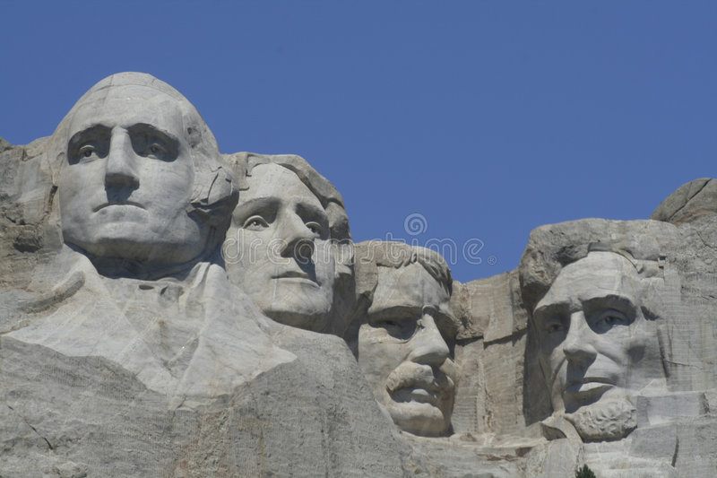 Mt. Rushmore royalty free stock image