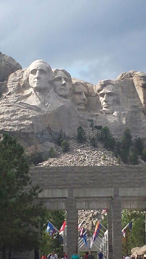 MT rushmore royalty-vrije stock fotografie