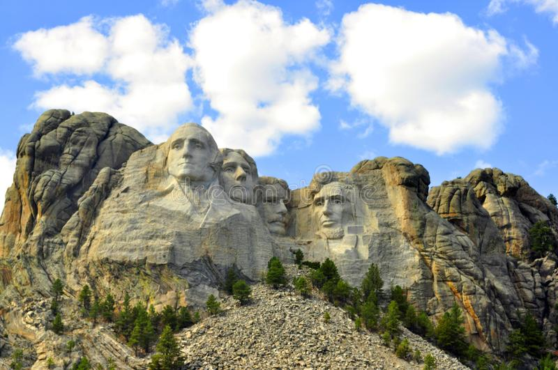 Mt. Rushmore royalty free stock images