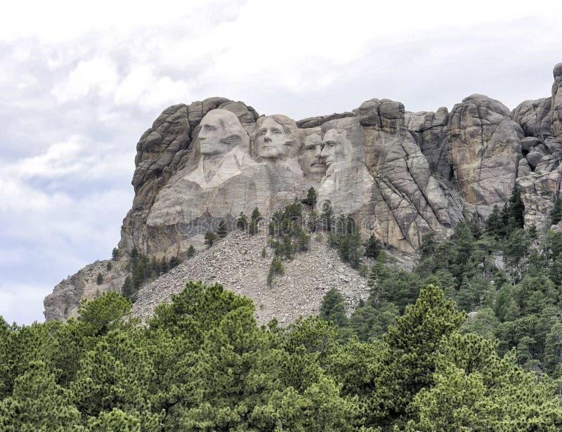 Mt Rushmore, South Dakota, USA lizenzfreie stockfotos
