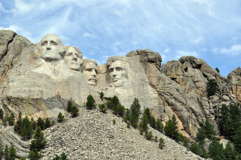 Mt Rushmore w Południowym Dakota fotografia royalty free