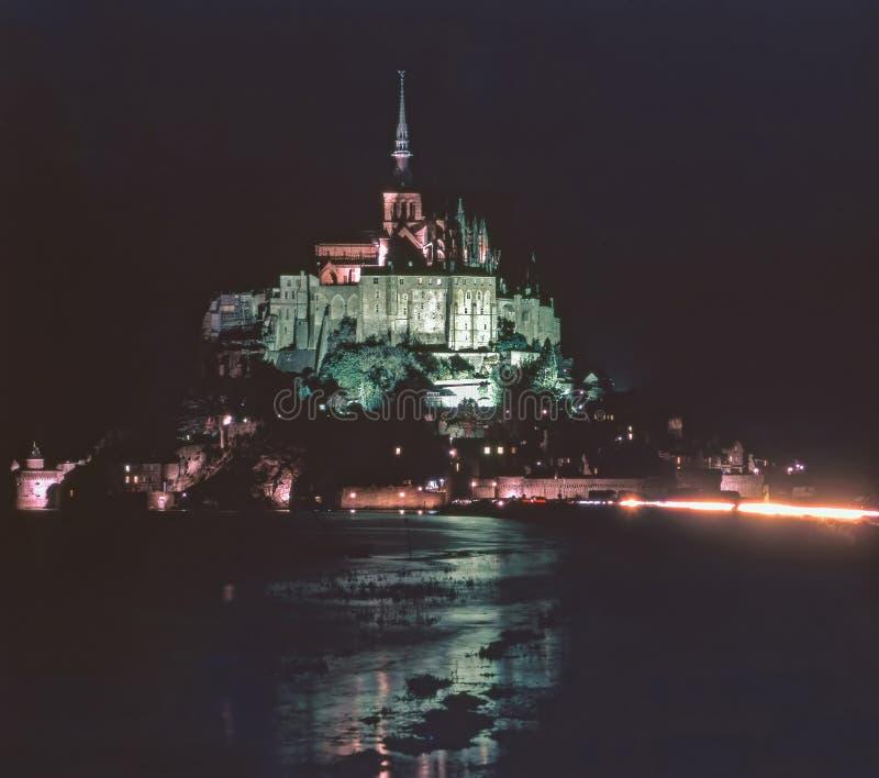 Mt Saint Michel, França imagem de stock royalty free