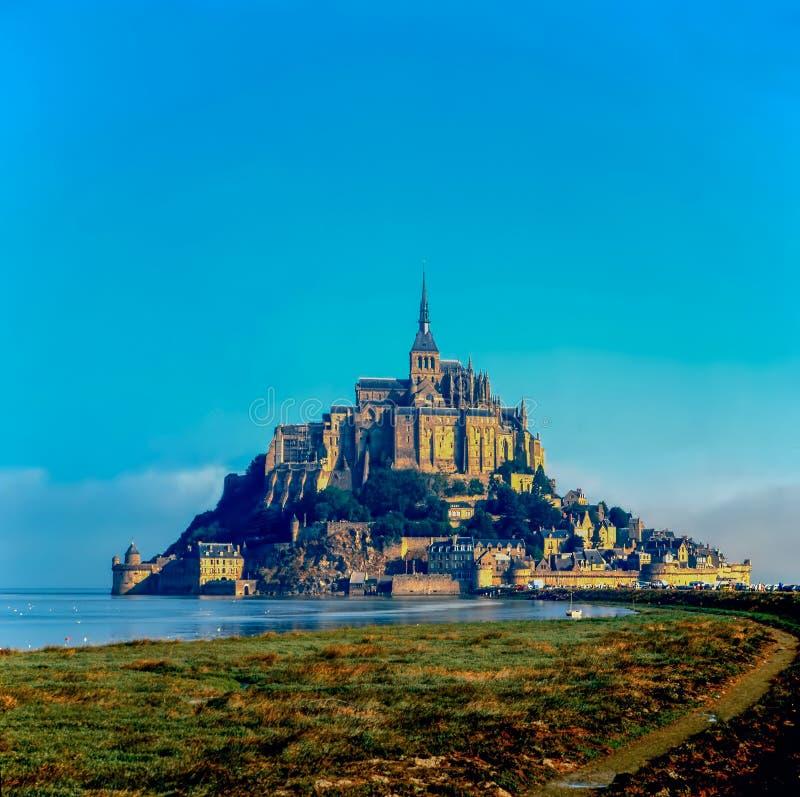 Mt Saint Michel, França foto de stock royalty free