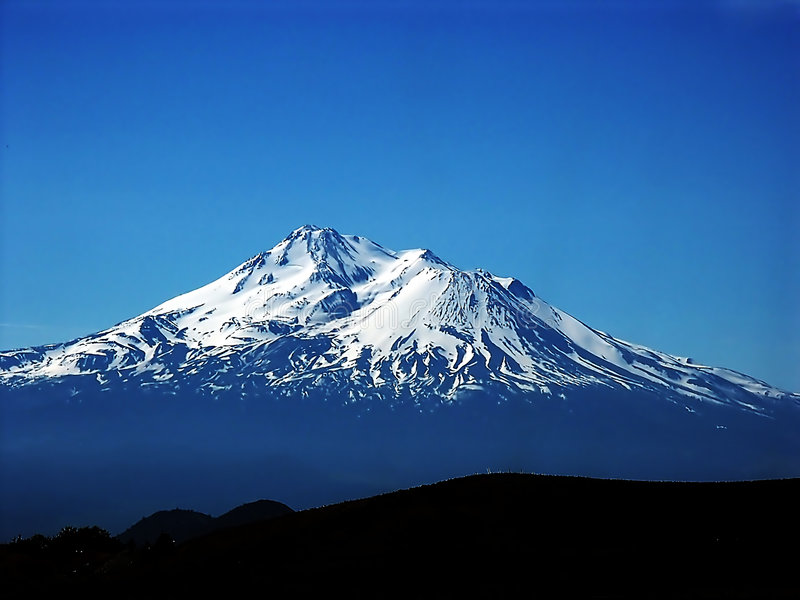 Mt. Shasta stock foto
