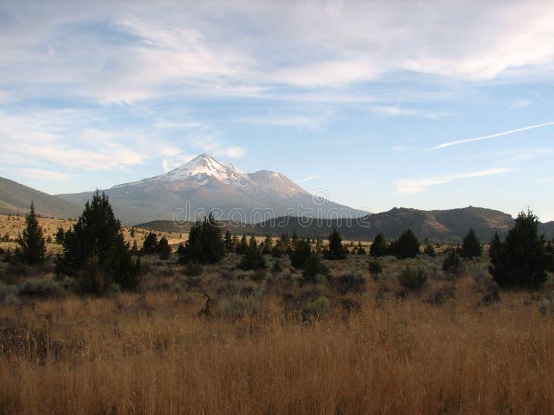 Mt. Shasta imágenes de archivo libres de regalías