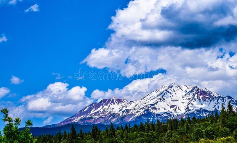 Mt shasta imagen de archivo libre de regalías