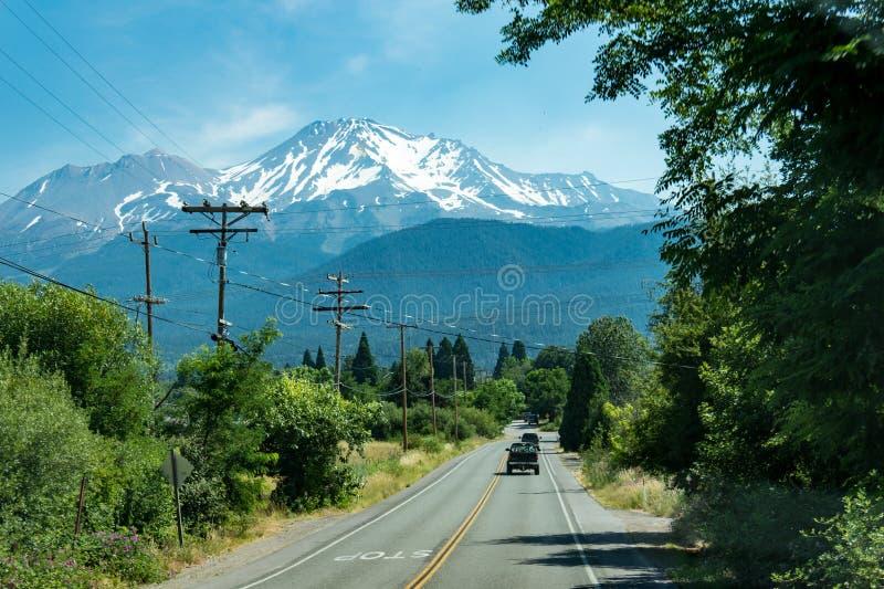 Mt Shasta la Californie photos stock