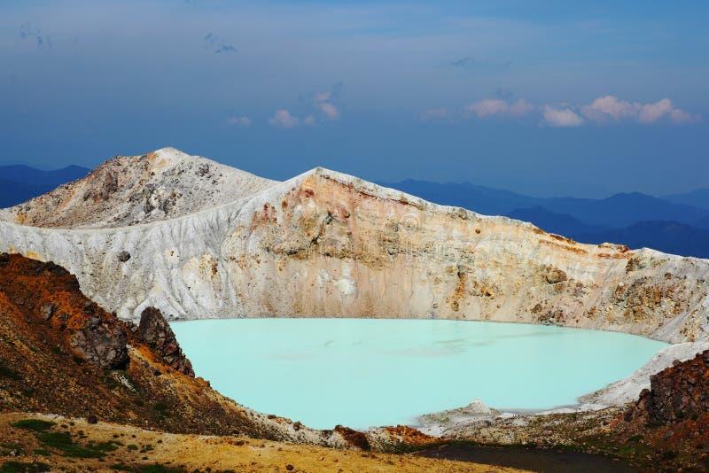 Mt.Shirane imágenes de archivo libres de regalías