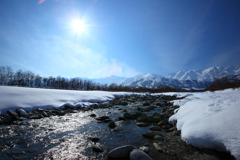 Mt. Shiroumadake, Nagano Japan Stock Images