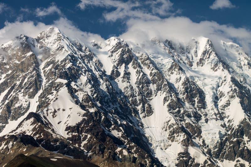 Mt Shkhara стоковые фото