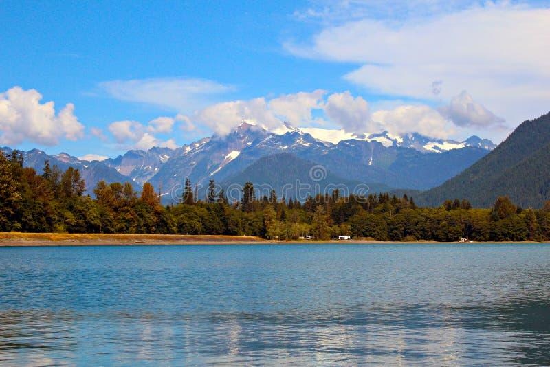 Mt. Shuksan stock afbeelding