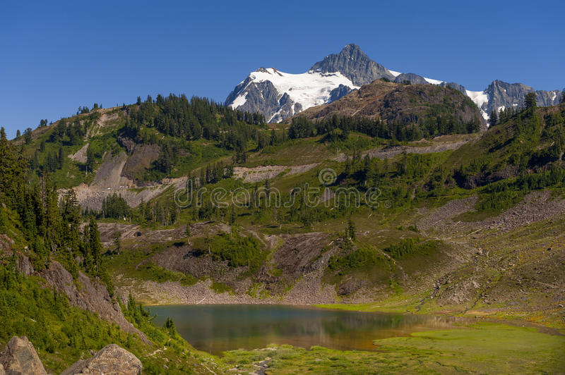 Mt Shuksan, Washington fotografia de stock royalty free
