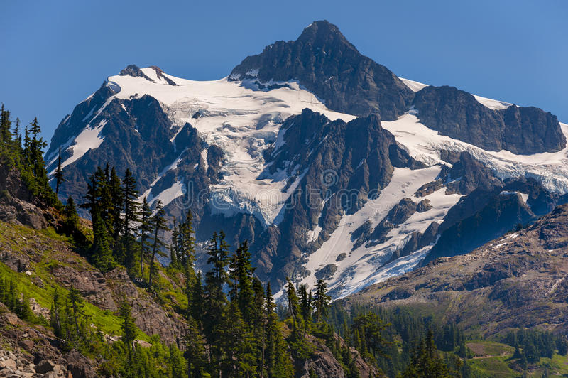 Mt Shuksan, Washington imagem de stock royalty free