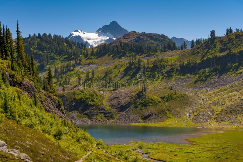 Mt Shuksan, Washington foto de stock