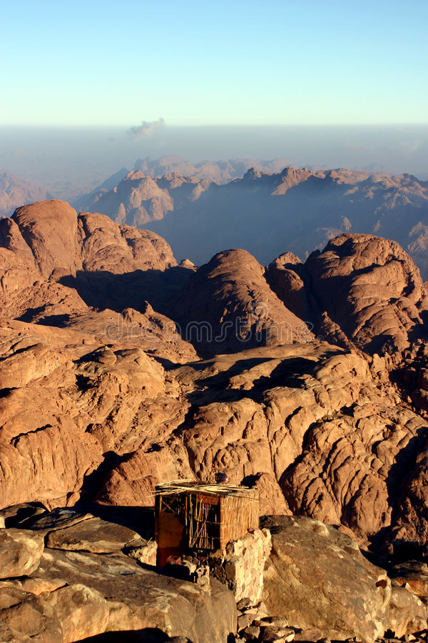 Mt Sinai fotografie stock