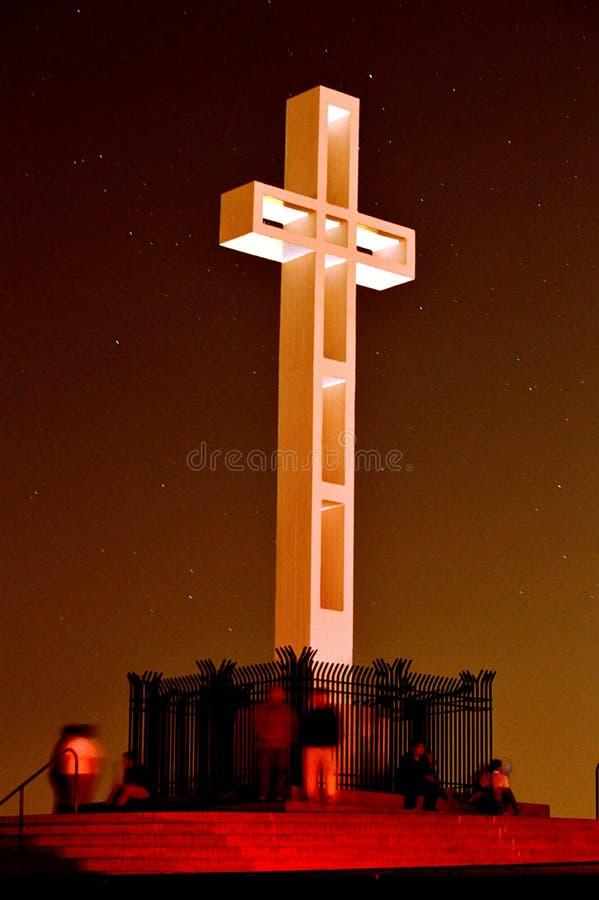 Mt Soledad Veterans Memorial, La Jolla Califórnia foto de stock royalty free
