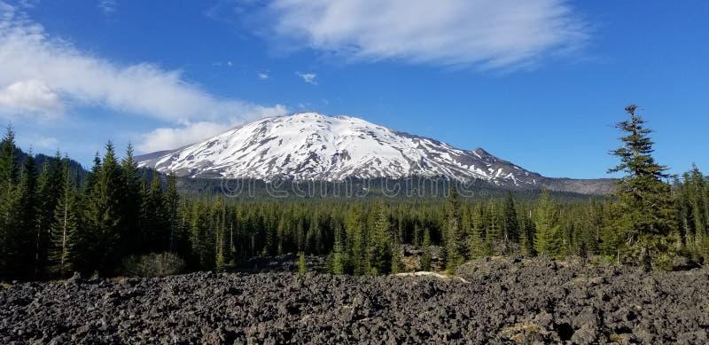 Mt St Helens arkivfoto