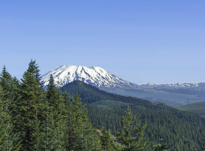 Mt. St. Helens royalty free stock images