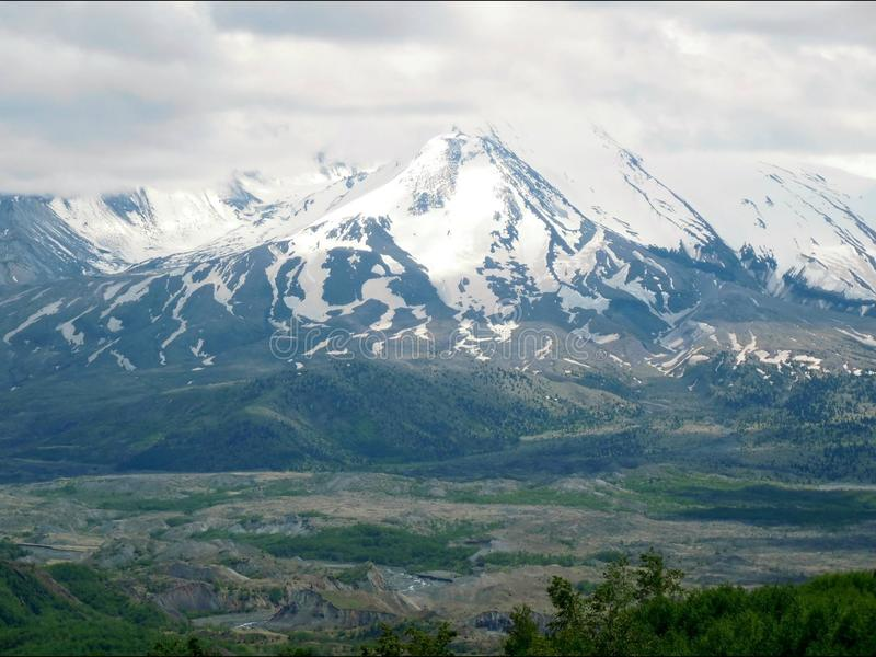 Mt. St. Helens royalty free stock photo