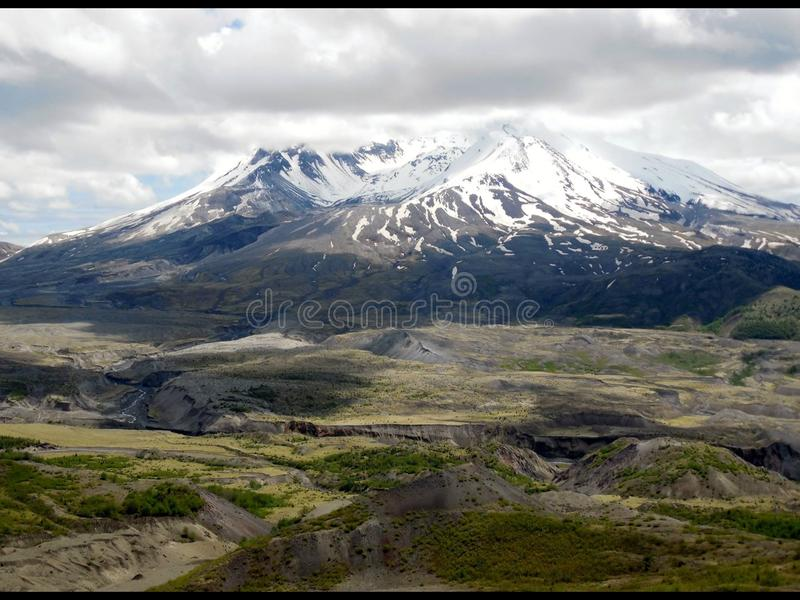 Mt. St. Helens royalty free stock photos