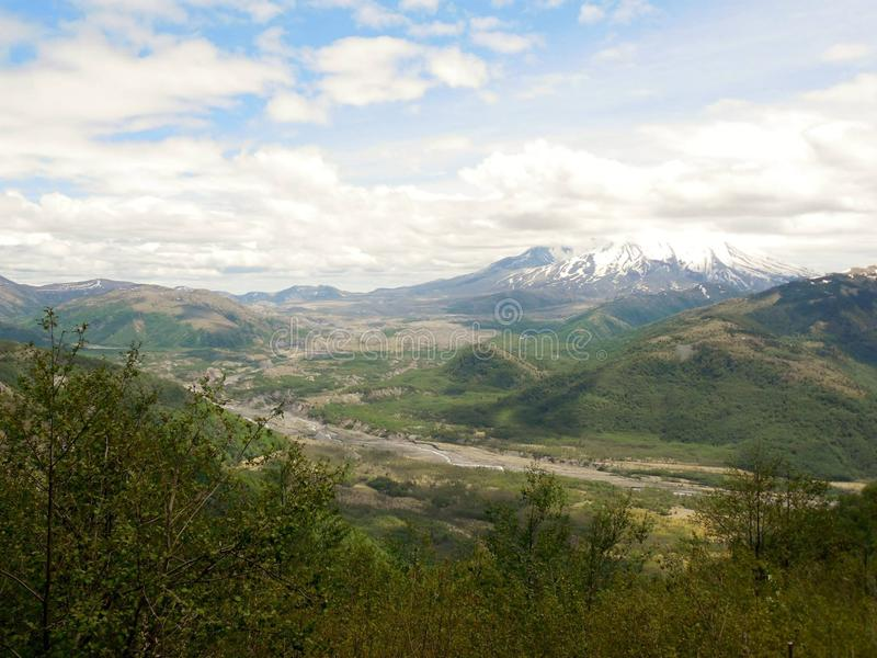 Mt. St. Helens stock image