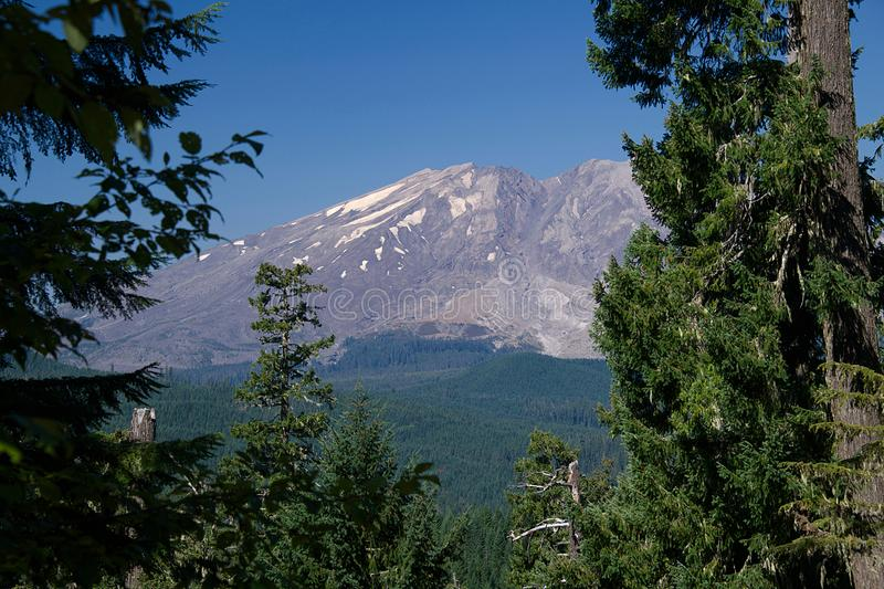 Mt St Helens 2272 royalty free stock image