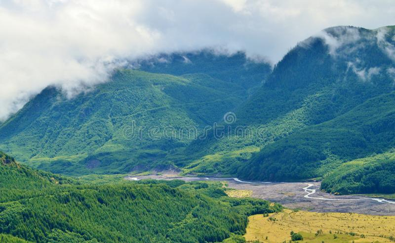 Mt st Helens in Washington stock photos