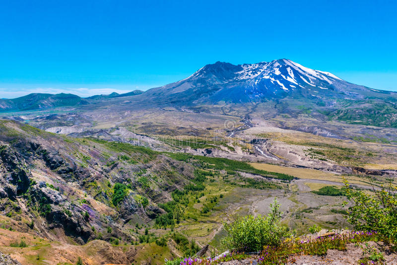 Mt. St. Helens stock images