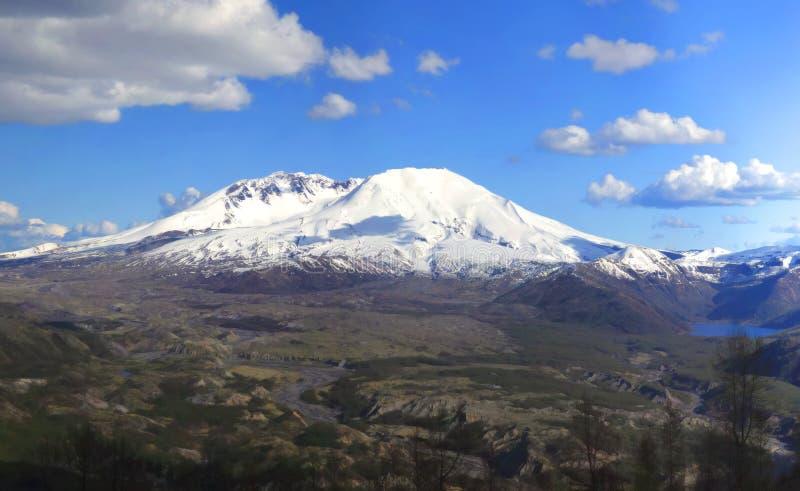 Mt-Str. Helen. lizenzfreie stockfotos