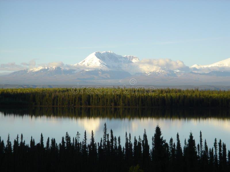 Mt. Susitna immagini stock libere da diritti