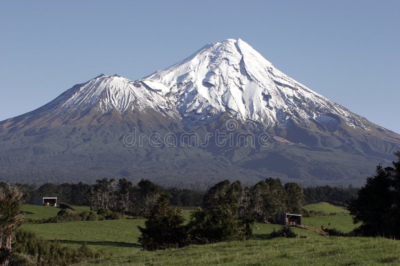Mt Taranaki/egmont photographie stock