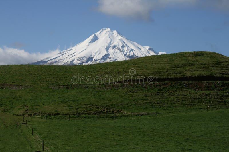 Mt Taranaki, Nouvelle Zélande image libre de droits