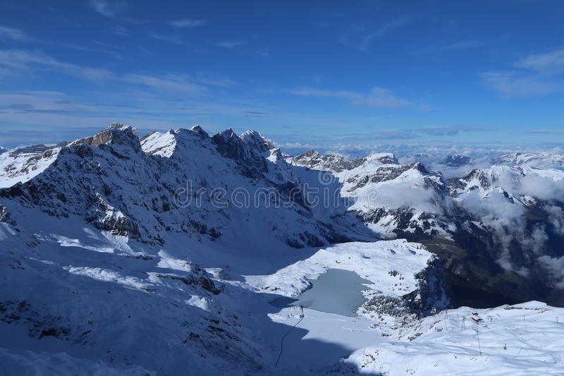Mt Titlis stockfoto