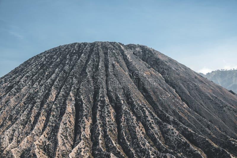 MT van de kratervulkaan Bromo Oost-Java, Indonesië stock afbeelding