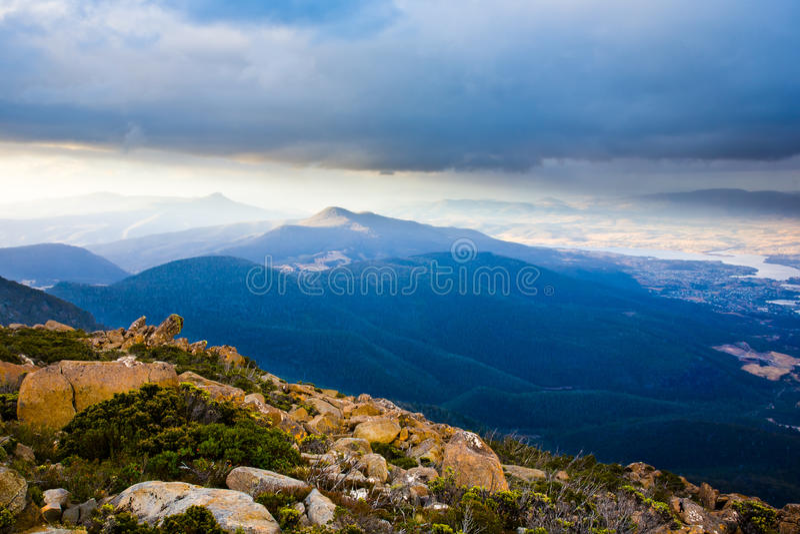 Mt Wellington stock photos
