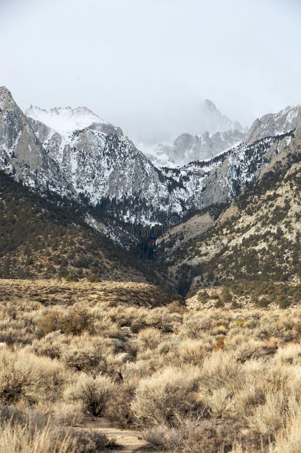 Mt. Whitney image libre de droits